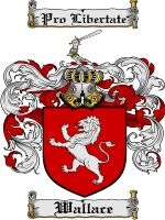 Wallace Coat of Arms / Family Crest Downloadable JPG $4.75