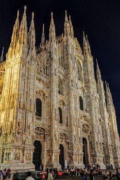 Duomo di Milano - Milan Cathedral at Night