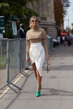 All the Best Street Style From Paris Fashion Week via @WhoWhatWearUK