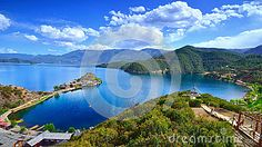 The Enchanting Scenery Of Lugu Lake - Download From Over 26 Million High Quality Stock Photos, Images, Vectors. Sign up for FREE today. Image: 41992273