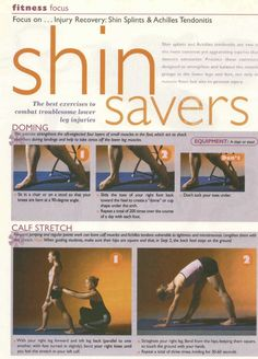 Shin-Saving Exercises from Dance Teacher Magazine