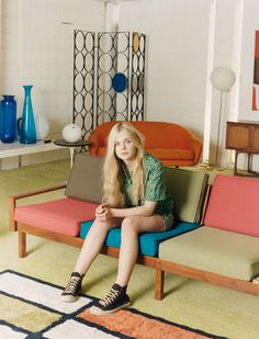 Elle Fanning photographed by Venetia Scott for Self Service, Spring/Summer 2012 / I love everything about this picture!