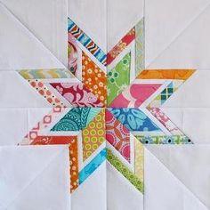 Lone Starburst Paper Piecing Templates