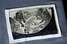 Rachel Hobson's Incredible Moon Embroidery - So Awesome!