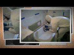 bathtub refinishing service CA Los Angeles - YouTube