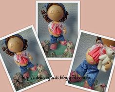 Atelie Crys Art's: Bonecas 3D