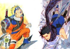 Uzumaki Naruto and Uchiha Sasuke (Naruto) Naruto Uzumaki, Sasunaru, Anime Naruto, Boruto, Naruto Fan Art, Anime Manga, Narusasu, Naruto Wallpaper, League Of Legends