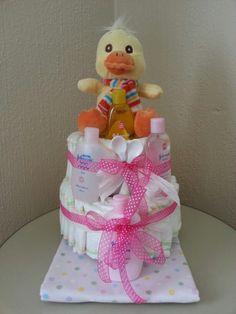 ♥Diaper cake Giving, Fun Ideas, Birthday Cakes, Shower Ideas, Baby Shower, Children, Girls, Babyshower, Young Children