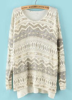 Like this sweater.