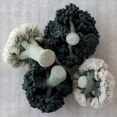 D'un réalisme et d'une délicatesse surprenante, l'artiste Japonaise Jung Jung réalise des légumes entièrement crochetés à la main.