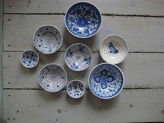 Turkish ceramic bowls