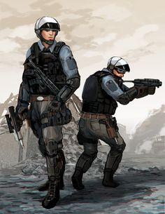 SW Rebel Fleet Trooper redesign by http://kvlticon by BaronNeutron on DeviantArt