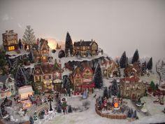 Kerstdorpje Margret Roodbeen 2012