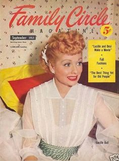 Lucille Ball - Family Circle Magazine [United States] (September 1953)