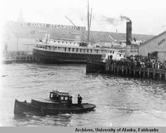 Leaving San Francisco June 2nd, 1913 on S. S. Umatilla. :: University of Alaska Fairbanks