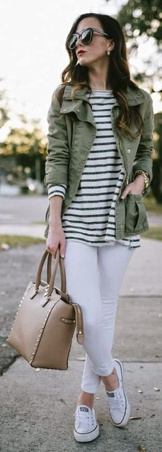 40 Super Stylish Ways to Wear Converse this Fall #converse #fall #outfits #casual