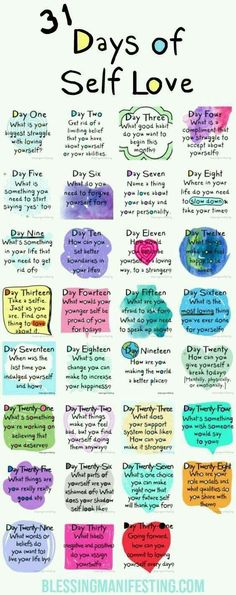 31 Tage Selbstliebe: Liebe dich selbst - Self-Care and Self Motivation - Vie Motivation, Fitness Motivation, Fitness Tips, Fitness Quotes, Health Fitness, Fitness Goals, Kids Fitness, Workout Quotes, Group Fitness