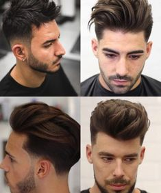 25 Best Hairstyles for a Receding Hairline - Men's Hairstyles Hard Part Haircut, Side Part Haircut, Medium Length Hair Men, Medium Hair Styles, Long Hair Styles, Teen Boy Hairstyles, Cool Hairstyles, Quiff Hairstyles, Latest Hairstyles