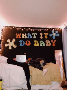 See more of avamessana's content on VSCO. Cute Canvas Paintings, Small Canvas Art, Diy Canvas Art, Chalkboard Wall Bedroom, Chalk Wall, Chalk Board, Painted Bedroom Doors, Painted Doors, Painted Signs