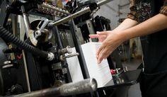 Letterpress Printing | Platemaking for printing press