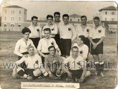 1925-26: campionato italiano di seconda divisione girone C. Il Carpi gioca con Crema, Gonzaga, Lucchese, Libertas Firenze, Piacenza, Prato, Pistoiese, Spal, Trevigliese e Viareggio.