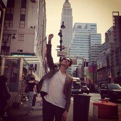 Brandon Boyd in Manhattan