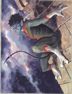 Nightcrawler by Milo Manara (Amazing X-Men #1 variant cover)