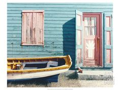 Out Island Colors Giclee Print by D.k. Gifford at Art.com