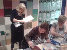 Wat een leuke workshop met Annie Sloan Chalk Paint was het weer :)