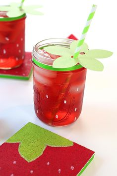 Easy Strawberry Craft Idea | Kim Byers