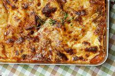 Arkipäivän perusruokaa ja lasten herkkua: Lasagne