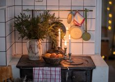 Vårt hem i juletid (UnderbaraClara) Christmas Feeling, Swedish Christmas, Cottage Christmas, Christmas Time Is Here, Scandinavian Christmas, All Things Christmas, Winter Christmas, Christmas Home, Xmas