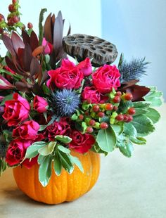 fall inspired florals via MINT LOVE SOCIAL CLUB