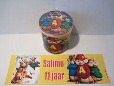 Alvin and the Chipmunks! www.vrolijketraktaties.nl