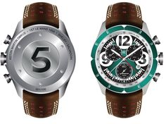 CHRISTOPHER WARD London | C70 DBR1 Ultra Special Limited Edition (in homage to the 1959 Le Mans winning DBR1) | WatchTime