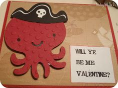 Creating With The J's: Create A Critter Valentine #5