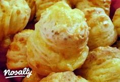 Extra sajtos-túrós pogi | Nosalty Hungarian Cuisine, Savory Pastry, Snack Recipes, Snacks, Nutella, Baked Goods, Bakery, Muffin, Food And Drink