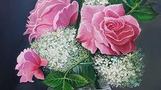 Miroonamoo Art 대전 성인취미미술 미루나무아트 Floral Wreath, Wreaths, Rose, Flowers, Plants, Home Decor, Homemade Home Decor, Pink, Door Wreaths