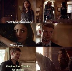 The Originals 1x21  I hate the way that yes klaus is immortal but no one asks…