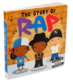"""Lay down a baby beat and learn all about the history of rap!""""This is sooooo adorbs!!"""" —Missy Elliot on Twitter2019 National Parenting ProductAward Winner From Grandmaster Flash to Kendrick Lamar, rap has shaped generations... Baby Beat, Rap History, Caterpillar Book, Babies First Words, Counting Books, Love And Hip, Gifts For New Parents, Book Crafts, Book Club Books"""