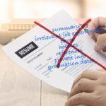 10 Cosas que NO debes Poner en Tu Currículum vitae