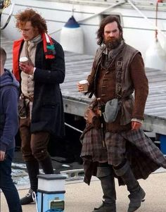 Jamie and Murtagh-Troon, Scotland outtakes.