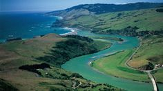 Where the Russian River meets the Pacific Ocean in Sonoma County, California. Photo Credit: Robert Janover