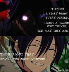 Yato, God of War from Noragami Sad Anime Quotes, Manga Quotes, True Quotes, People Quotes, Me Anime, Anime Manga, Doki Doki Anime, Anime Triste, Thing 1