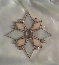 STAINED GLASS STAR £17.50