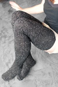 O Marled thigh high socks ($12) perfect for under the pants in the frigid winters