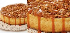 Sandra Lee Pecan Caramel Cheesecake