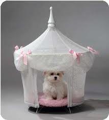 Sugarplum Princess Dog Cat Pet Bed Canopy Tent in Pet Supplies, Dog Supplies, Beds Dog Tent Bed, Princess Dog Bed, Princess House, Princess Palace, Princess Kitty, Princess Canopy, Princess Castle, Luxury Pet Beds, Luxury Bed