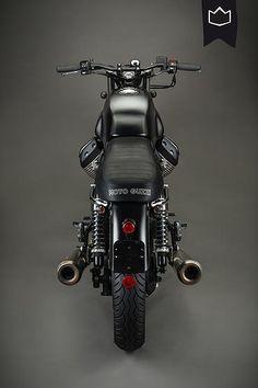 Moto Guzzi V7 Brat Style by La Corona Motorcyles #motorcycles #bratstyle #motos | caferacerpasion.com