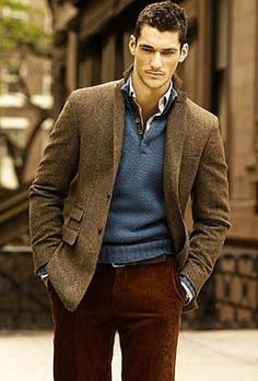 Younger David Gandy